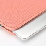32nd-High-quality-cushioned-laptop-sleeve-for-notebook-computer-tablet-Universal-116-inch-Carrying-Carrybag-Briefcase-Pouch-for-Apple-Macbook-Air-11-Chromebook-11-Pink-0-1