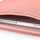 32nd-High-quality-cushioned-laptop-sleeve-for-notebook-computer-tablet-Universal-116-inch-Carrying-Carrybag-Briefcase-Pouch-for-Apple-Macbook-Air-11-Chromebook-11-Pink-0-2