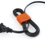 Bluelounge-Medium-CableClip-Cable-Management-System-in-Grey-Orange-4-Pack-0