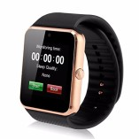 GENORTH-2015-Newest-Wearable-Bluetooth-Smart-Watch-GT08-Smart-Health-Wrist-Watch-Phone-with-SIM-Card-Slot-and-NFC-for-Android-Samsung-HTC-LGFull-Functions-IOS-iPhone-55s6plusPartial-functions-Gold-0-0