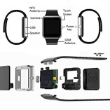 PADGENE2016-Newest-Wearable-Bluetooth-Smart-Watch-GT08-Smart-Health-Wrist-Watch-Phone-with-SIM-Card-Slot-and-NFC-for-Android-Samsung-HTC-LG-SONY-HUAWEIFull-Functions-IOS-iPhone-55s6plusPartial-functio-0-2
