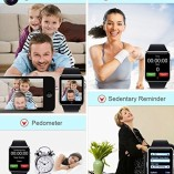 PADGENE2016-Newest-Wearable-Bluetooth-Smart-Watch-GT08-Smart-Health-Wrist-Watch-Phone-with-SIM-Card-Slot-and-NFC-for-Android-Samsung-HTC-LG-SONY-HUAWEIFull-Functions-IOS-iPhone-55s6plusPartial-functio-0-3
