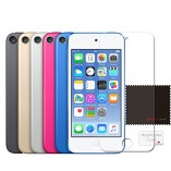 Pack-of-3-TECHGEAR-Apple-iPod-Touch-6-iPod-Touch-5-16GB-32GB-64GB-128GB-CLEAR-LCD-Screen-Protector-Covers-iPod-Touch-5th-6th-Generation-0-0