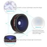 VicTsing-Clip-Supreme-Fisheye-Lens-12X-Macro-24X-Super-Macro-3-in-1-Lens-Kit-for-Apple-iPhone-SE-6-6S-6-Plus-Apple-55S5C4-HTC-Sony-LG-No-Dark-Circle-by-the-Fisheye-Lens-0-0