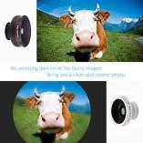 VicTsing-Clip-Supreme-Fisheye-Lens-12X-Macro-24X-Super-Macro-3-in-1-Lens-Kit-for-Apple-iPhone-SE-6-6S-6-Plus-Apple-55S5C4-HTC-Sony-LG-No-Dark-Circle-by-the-Fisheye-Lens-0-1