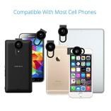 VicTsing-Clip-Supreme-Fisheye-Lens-12X-Macro-24X-Super-Macro-3-in-1-Lens-Kit-for-Apple-iPhone-SE-6-6S-6-Plus-Apple-55S5C4-HTC-Sony-LG-No-Dark-Circle-by-the-Fisheye-Lens-0-4