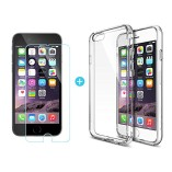 iPhone-6S-Case-Ringke-Fusion-Crystal-Clear-PC-Back-TPU-Bumper-w-Screen-Protector-Drop-ProtectionShock-Absorption-TechnologyAttached-Dust-Cap-For-Apple-iPhone-6S-6-Crystal-View-0-1