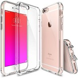 iPhone-6S-Case-Ringke-Fusion-Crystal-Clear-PC-Back-TPU-Bumper-w-Screen-Protector-Drop-ProtectionShock-Absorption-TechnologyAttached-Dust-Cap-For-Apple-iPhone-6S-6-Crystal-View-0